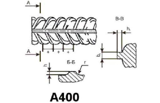 Арматура А400